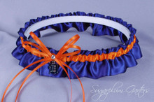 Detroit Tigers Wedding Garter