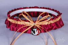 Florida State University Seminoles Wedding Garter