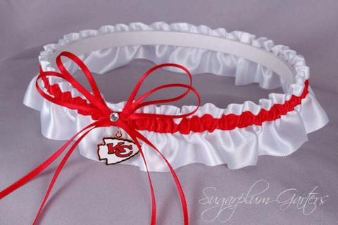 Kansas City Chiefs Wedding Garter
