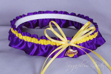 Los Angeles Lakers Wedding Garter
