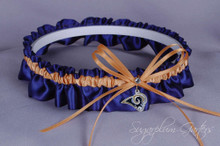 Los Angeles Rams Wedding Garter