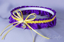 Minnesota Vikings Wedding Garter