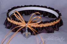 New Orleans Saints Wedding Garter