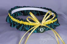 Oakland Athletics Wedding Garter