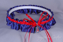 University of Arizona Wildcats Wedding Garter