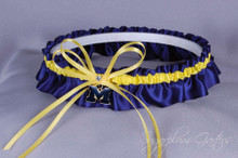 University of Michigan Wolverines Wedding Garter