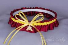 University of Minnesota Golden Gophers Wedding Garter