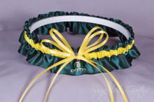 University of Oregon Ducks Wedding Garter