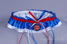Chicago Cubs Classic Wedding Garter