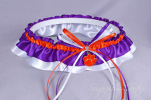 Clemson University Tigers Classic Wedding Garter