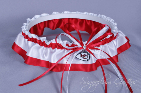 Kansas City Chiefs Classic Wedding Garter