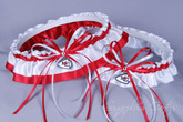 Kansas City Chiefs Classic Wedding Garter Set
