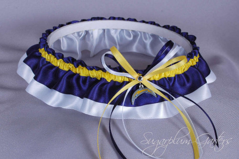 Los Angeles Chargers Classic Wedding Garter