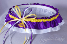 Los Angeles Lakers Classic Wedding Garter