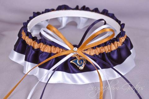 Los Angeles Rams Classic Wedding Garter