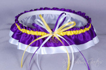 Louisiana State University Tigers Classic Wedding Garter