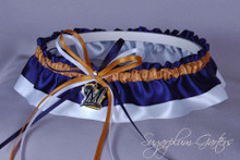 Milwaukee Brewers Classic Wedding Garter