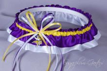 Minnesota Vikings Classic Wedding Garter