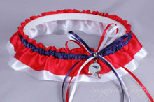 New England Patriots Classic Wedding Garter
