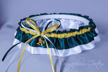 Oakland Athletics Classic Wedding Garter