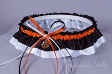 Oklahoma State University Cowboys Classic Wedding Garter