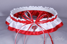 Philadelphia Phillies Classic Wedding Garter