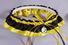 Pittsburgh Steelers Classic Wedding Garter