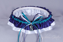 Seattle Mariners Classic Wedding Garter