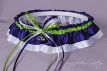 Seattle Seahawks Classic Wedding Garter
