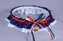 University of Illinois Fighting Illini Classic Wedding Garter