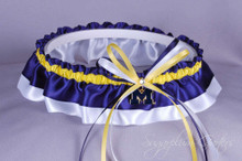 University of Michigan Wolverines Classic Wedding Garter