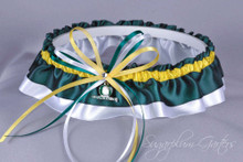 University of Oregon Ducks Classic Wedding Garter