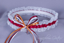 Arizona State University Sun Devils Lace Wedding Garter
