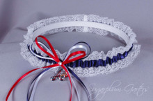 Atlanta Braves Lace Wedding Garter