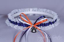 Auburn University Tigers Lace Wedding Garter