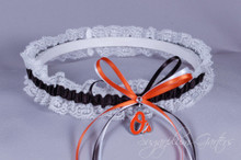 Baltimore Orioles Lace Wedding Garter