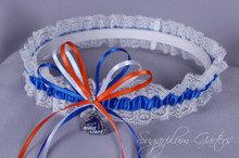 Boise State University Broncos Lace Wedding Garter