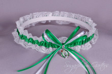 Boston Celtics Lace Wedding Garter