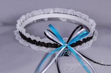 Carolina Panthers Lace Wedding Garter