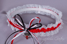 Chicago Bulls Lace Wedding Garter