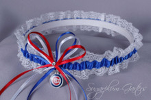 Chicago Cubs Lace Wedding Garter
