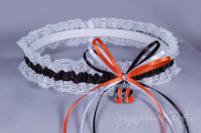 Cincinnati Bengals Lace Wedding Garter