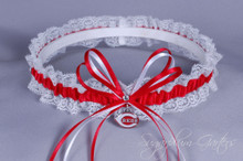 Cincinnati Reds Lace Wedding Garter