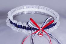 Cleveland Indians Lace Wedding Garter