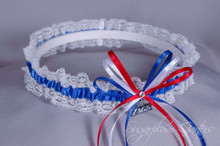 Gonzaga University Bulldogs Lace Wedding Garter