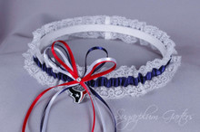 Houston Texans Lace Wedding Garter