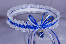 Kansas City Royals Lace Wedding Garter