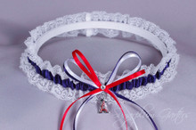 Los Angeles Angels of Anaheim Lace Wedding Garter