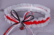 Miami Heat Lace Wedding Garter