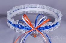 New York Knicks Lace Wedding Garter